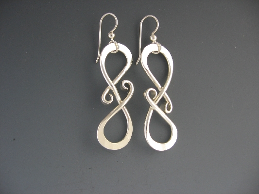 Crazy S Hook Earrings