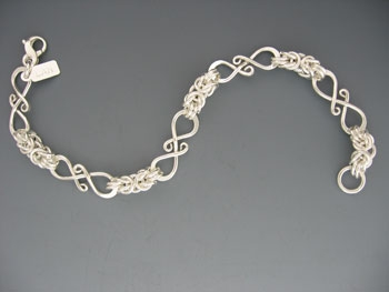 Crazy S Hook/sequential Bracelet
