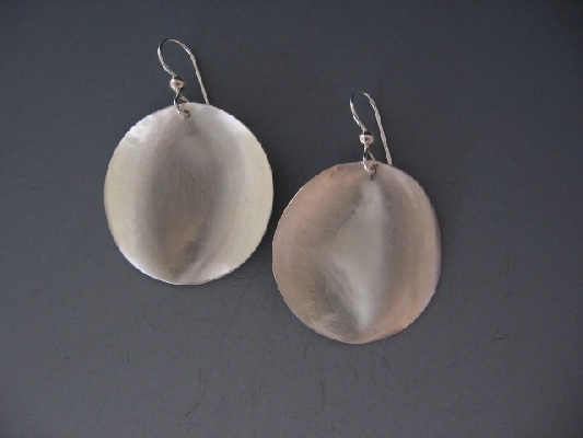 Round Mirage Earrings